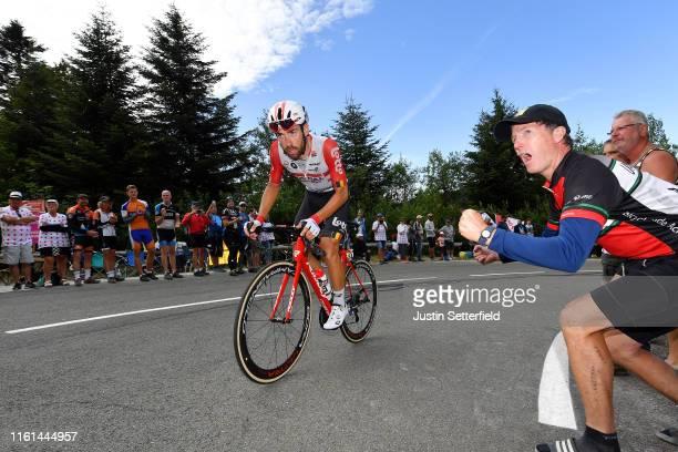Thomas De Gendt of Belgium and Team Lotto Soudal / Planche des Belles Filles / Public / Fans / during the 106th Tour de France 2019, Stage 6 a...