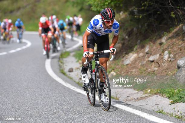 Thomas De Gendt of Belgium and Team Lotto Soudal Polka Dot Mountain Jersey / during the 73rd Tour of Spain 2018, Stage 20 a 97,3km stage from...