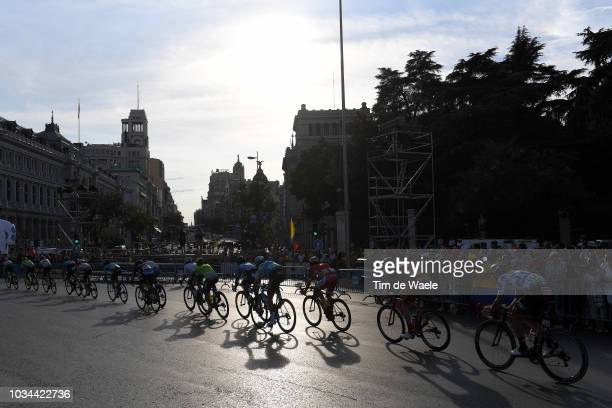 Thomas De Gendt of Belgium and Team Lotto Soudal Polka Dot Mountain Jersey / Peloton / Landscape / during the 73rd Tour of Spain 2018 Stage 21a...