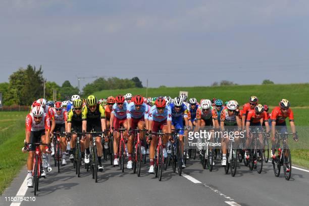 Thomas De Gendt of Belgium and Team Lotto Soudal / Tosh Van Der Sande of Belgium and Team Lotto Soudal / Christopher Juul Jensen of Denmark and Team...