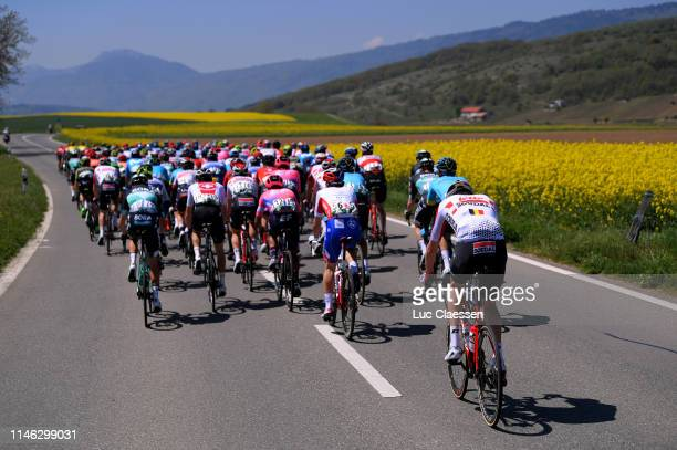 Thomas Degand of Belgium and WantyGobert Cycling Team / Matteo Badilatti of Switzerland and Team Switzerland / Adam Blythe of Great Britain and Team...