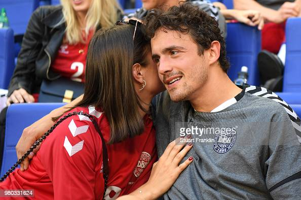 Thomas Delaney Of Denmark Is Seen With His Partner Michelle Lindeman News Photo Getty Images