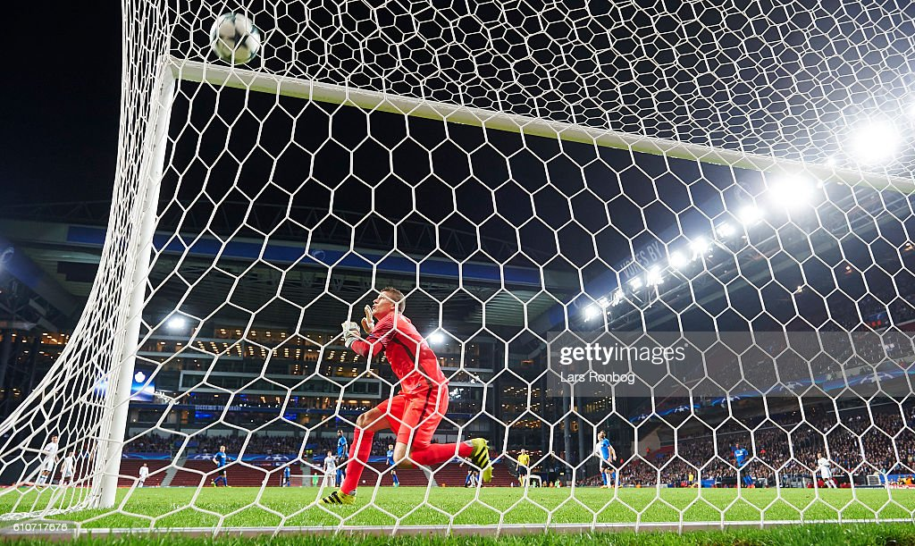 FC Copenhagen vs Club Brugge - UEFA Champions League : News Photo