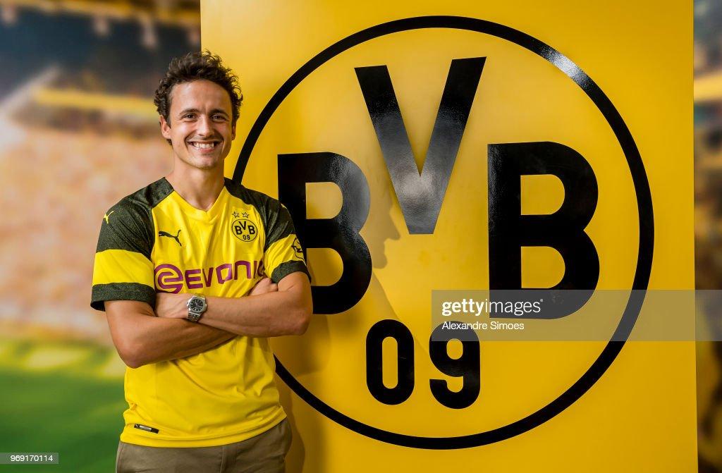 Borussia Dortmund Unveils New Signing Thomas Delaney