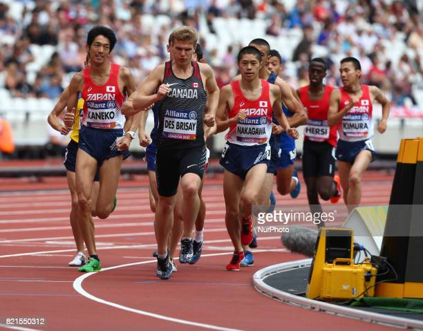Thomas Des Brisay of Canada Man's 1500m T20 Final during World Para Athletics Championships at London Stadium in London on July 23 2017