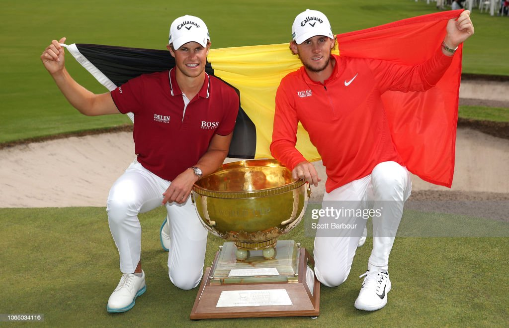 2018 World Cup of Golf - Day 4 : Nachrichtenfoto