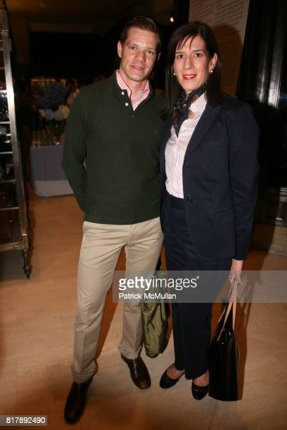 Thomas Dobrowolski and Suzanne Smith attend The launch of 'True Prep' at Brooks Brothers on September 14 2010 in New York