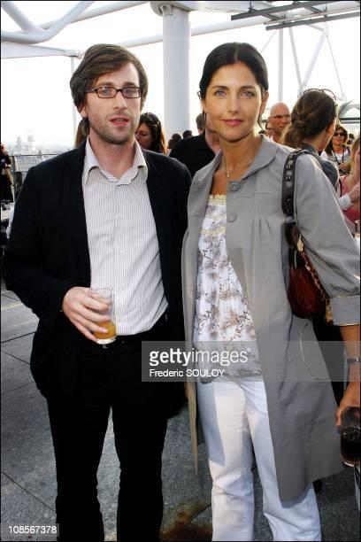 Thomas Dutronc and Christina Reali in Paris, France on June 12, 2007.