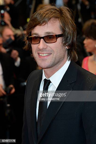 Thomas Dutronc arrives at the Amour Premiere during the 65th Cannes Film Festival.