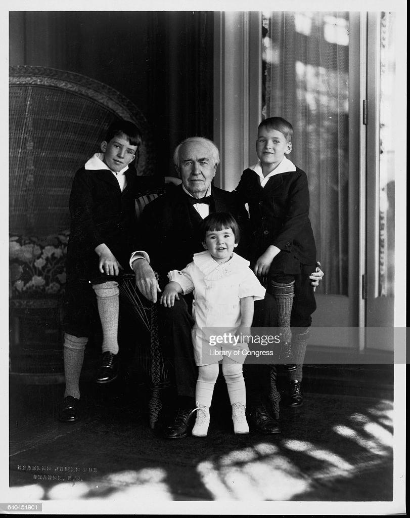 Thomas Edison and Grandchildren Pictures | Getty Images for Thomas Edison Family  83fiz