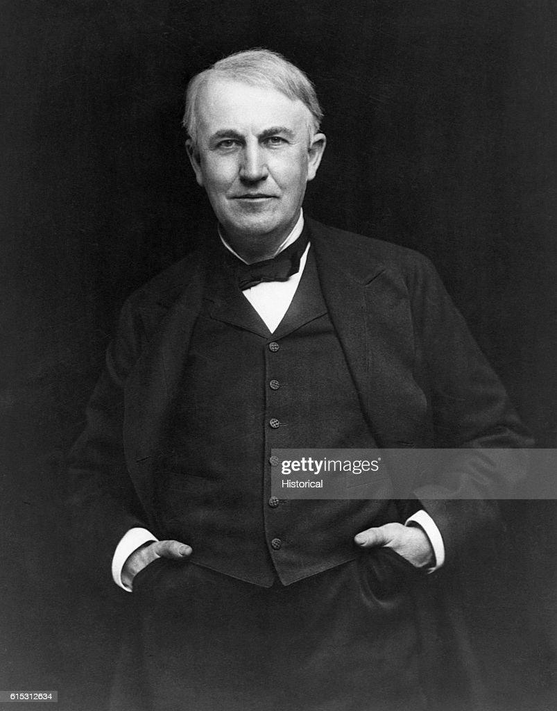 Thomas Edison : News Photo