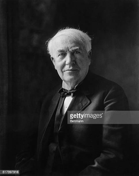 Thomas Edison invented or developed a great many of the 20th century's essential electronic devices such as the phonograph the incandescent lightbulb...