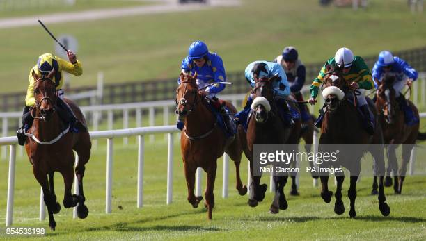Thomas Edison ridden by Fran Berry goes on to win The War Horse At The Curragh Raceday Handicap during Big Bad Bob Gladness Stakes/War Horse Race Day...