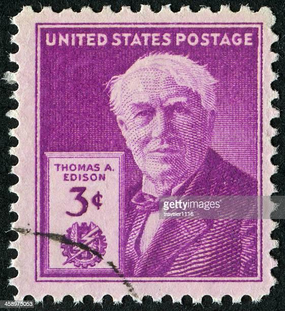 Thomas Edison Stamp