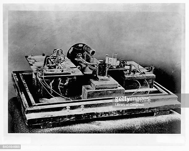 Thomas Edison's Kinetograph his first motion picture camera made in 1889
