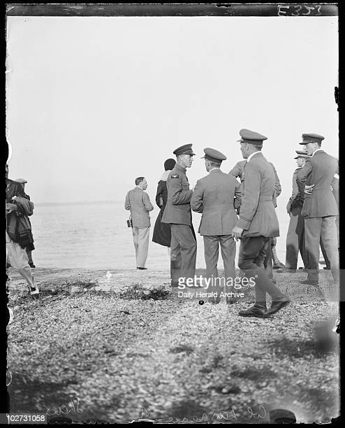 Thomas Edward Lawrence September 1934 Colonel Thomas Edward Lawrence better known as the author T E Lawrence among a group of aircraftsmen Photograph...