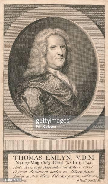 Thomas Emlyn VDM' 1742 Portrait of English Presbyterian minister and writer Thomas Emlyn first Unitarian minister in England Emlyn first publicly...