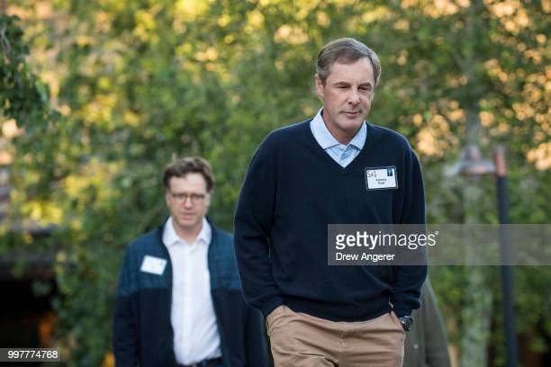 Thomas F Frist III heir of the First family fortune and founder and managing principal of Frist Capital attends the annual Allen Company Sun Valley...