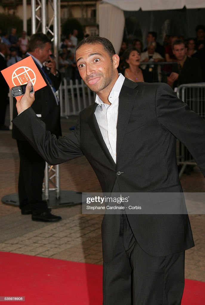 Thomas Fabius arrives at the premiere of 'The Ice Harvest' during the 31st American Deauville Film Festival.