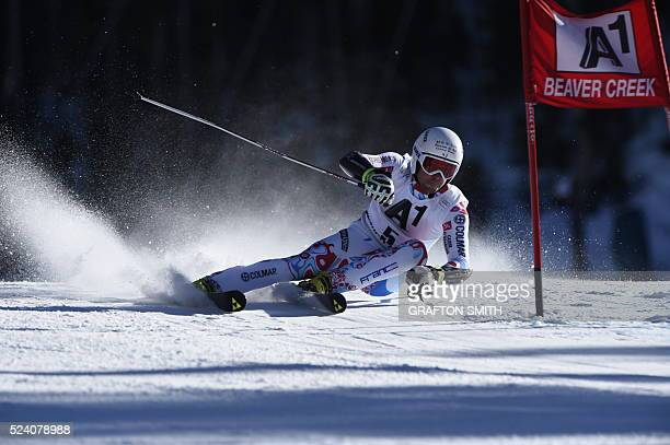 Thomas Fanara • FRA • at 2014 Beaver Creek World Cup Giant Slalom