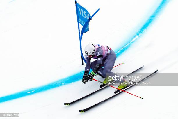 Thomas Fanara of France in action during the Audi FIS Alpine Ski World Cup Men's Giant Slalom on December 3 2017 in Beaver Creek Colorado