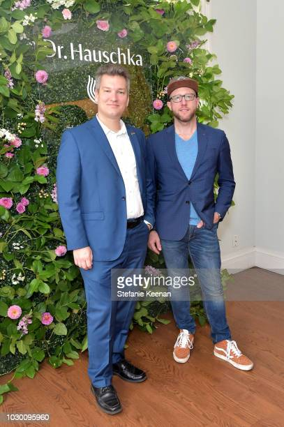 Thomas Feith and Alexander Weimer attend German Films X Dr Hauschka Reception at the 43rd Toronto International Film Festival on September 9 2018 in...
