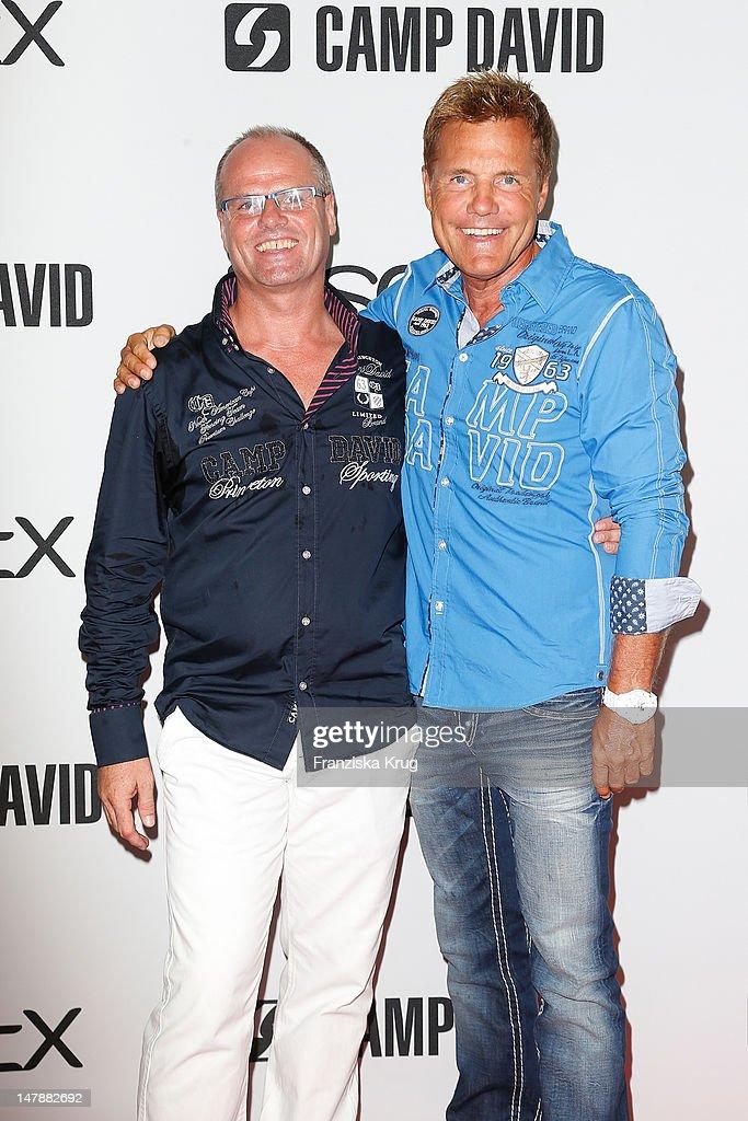 buy online 63b95 29073 Thomas Finkbeiner and Dieter Bohlen attend Camp David show ...
