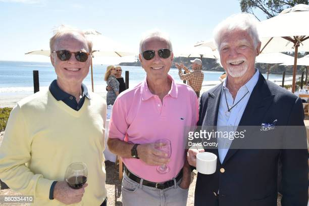 Thomas Fitzgerald Thomas Tellefsen and Jerry Sanders attend Hearst Castle Preservation Foundation Annual Benefit Weekend 'Lunch at the Hearst Ranch...