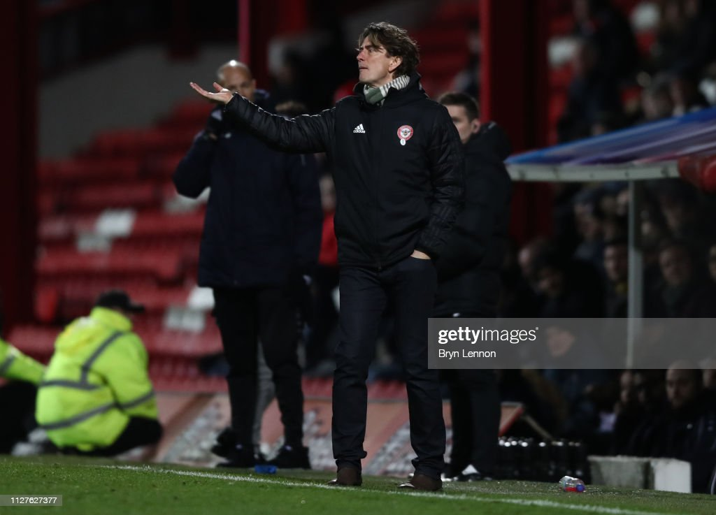 Brentford v Barnet - FA Cup Fourth Round Replay : News Photo