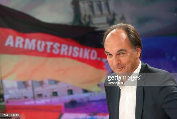 Thomas Fricke in der ZDFTalkshow maybrit illner am in Berlin Abstiegsangst im reichen Land Warum wächst die Wut