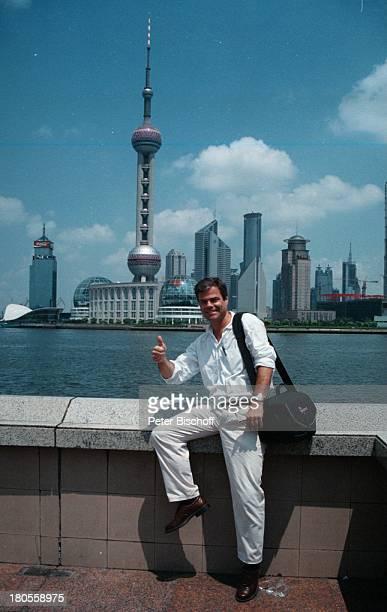 Thomas Fuchsberger Shanghai/China/Asien Bund gegenüber Pudong Wolkenkratzer Meer Urlaub SC