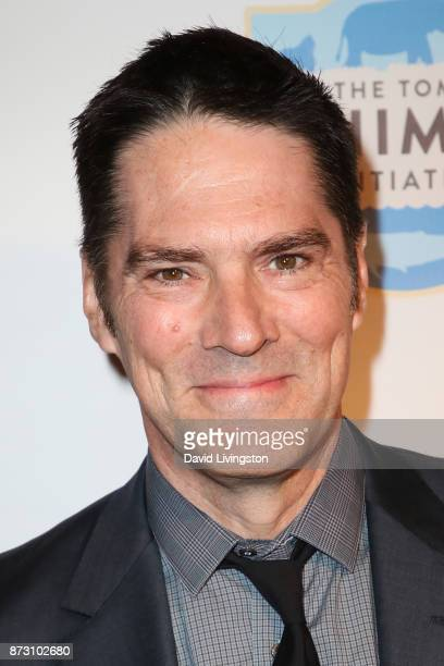 Thomas Gibson arrives at the Evening with WildAid at the Beverly Wilshire Four Seasons Hotel on November 11 2017 in Beverly Hills California