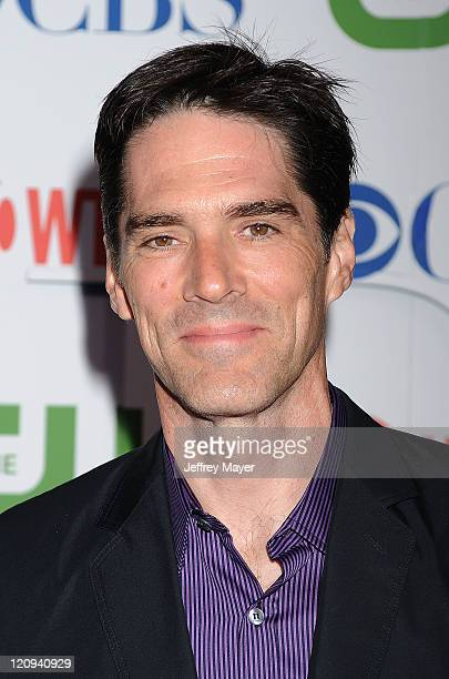 Thomas Gibson arrives at the TCA Party for CBS The CW and Showtime held at The Pagoda on August 3 2011 in Beverly Hills California