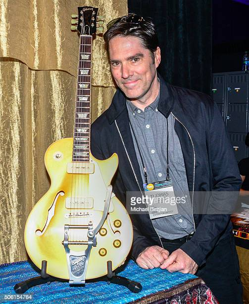 Thomas Gibson attends 2016 NAMM Show at Anaheim Convention Center on January 21 2016 in Anaheim California