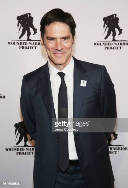 Thomas Gibson attends the Wounded Warrior Project Courage Awards Benefit Dinner on May 31 2018 at Gotham Hall in New York City