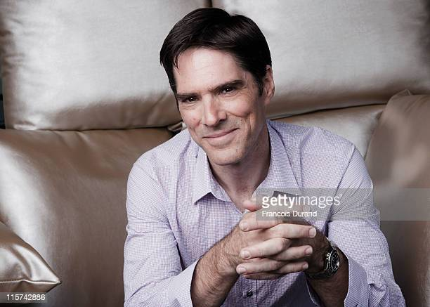 Thomas Gibson poses at a portrait session during the 2011 Monte Carlo Television Festival held at the Grimaldi Forum on June 9 2011 in Monaco Monaco