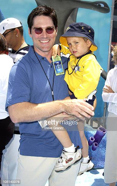 Thomas Gibson Son JP during 'Finding Nemo' Los Angeles Premiere at El Capitan Theater in Los Angeles California United States