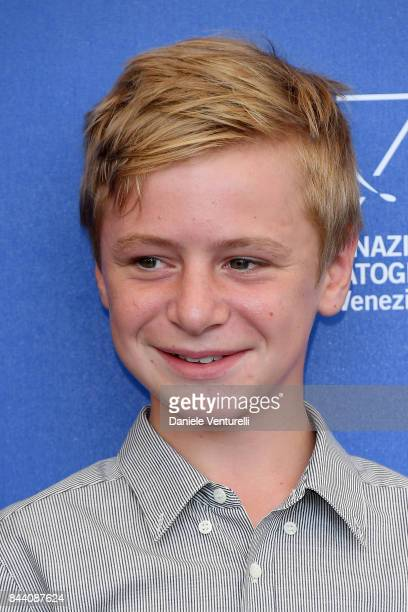 Thomas Gioria attends the 'Jusqu'a La Garde' photocall during the 74th Venice Film Festival on September 8 2017 in Venice Italy
