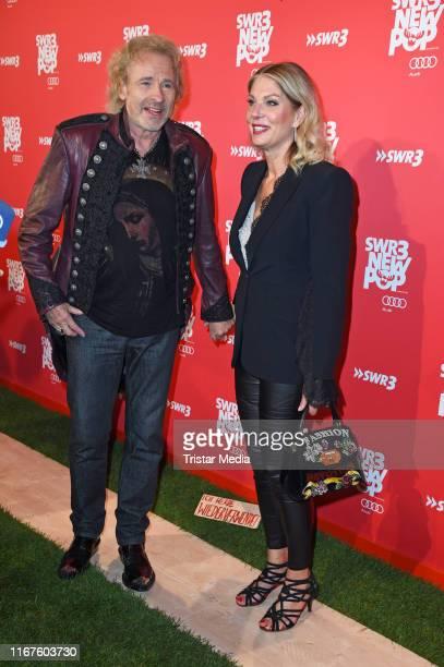 "Thomas Gottschalk and his girlfriend Karina Mross attend the ""SWR3 New Pop Festival - Das Special on September 12, 2019 in Baden-Baden, Germany."