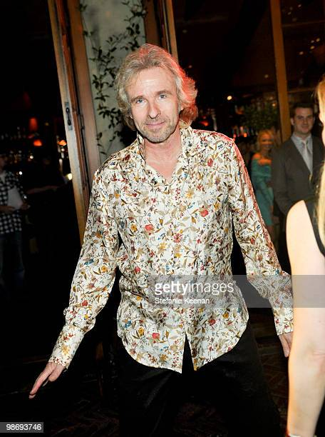 Thomas Gottschalk attends Giorgio Moroder's Surprise Birthday Party at Spago on April 26 2010 in Beverly Hills California