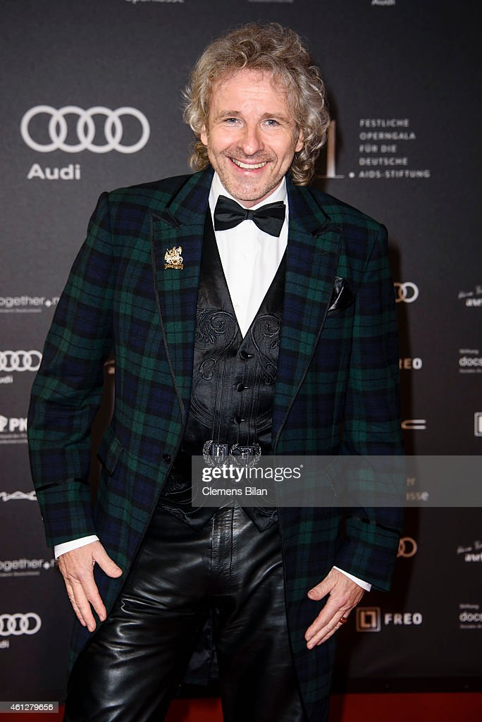 Thomas Gottschalk attends the 21st Aids Gala at Deutsche Oper Berlin on January 10, 2015 in Berlin, Germany.