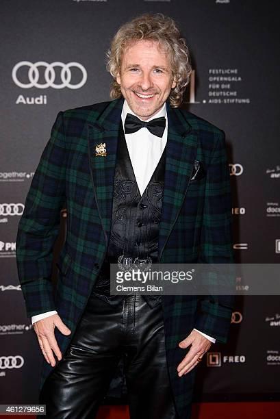 Thomas Gottschalk attends the 21st Aids Gala at Deutsche Oper Berlin on January 10, 2015 in Berlin, Germany.