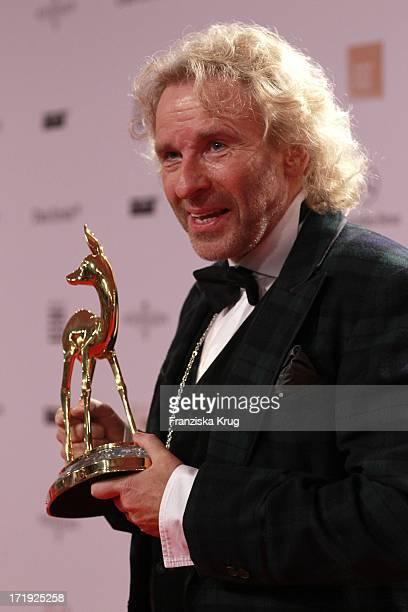 Thomas Gottschalk Bei Der Bambi Verleihung 2011 In Den Rhein Main Hallen In Wiesbaden