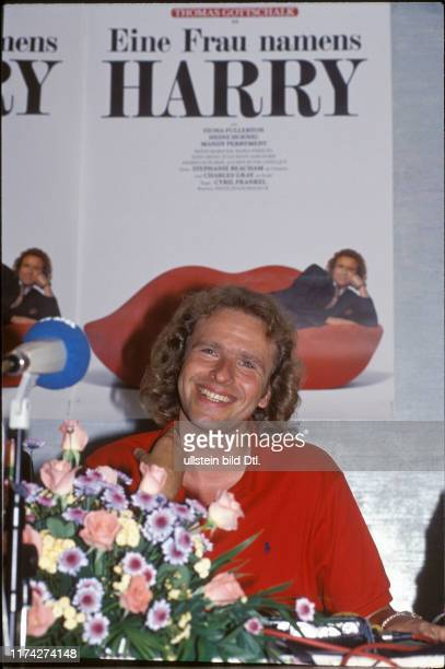 Thomas Gottschalk bei Filmpremière, 1990