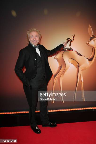 Thomas Gottschalk during the Bambi Awards 2018 winners board at Stage Theater on November 16, 2018 in Berlin, Germany.