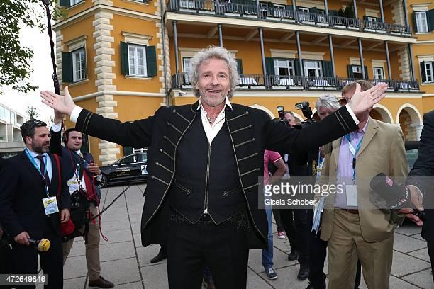 Thomas Gottschalk during the 'Ein Schloss am Woerthersee' 25th anniversary gala on May 8 2015 in Velden Austria