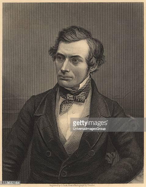 Thomas Graham Scottish chemist who laid the foundations of physical chemistry. From James Sheridan Muspratt Chemistry . Engraving. British.