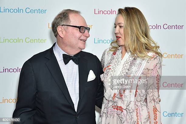 Thomas H Lee and Anna Nikolayevsky attend Lincoln Center's 2016 Fall Gala at Jazz at Lincoln Center on November 1 2016 in New York City
