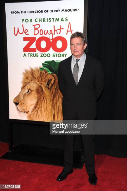 Thomas Haden Church attends the 'We Bought a Zoo' premiere at Ziegfeld Theater on December 12 2011 in New York City