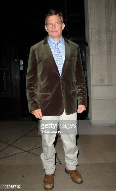Thomas Haden Church during SpiderMan 3 London Premiere After Party Departures at Freemason's Hall in London Great Britain